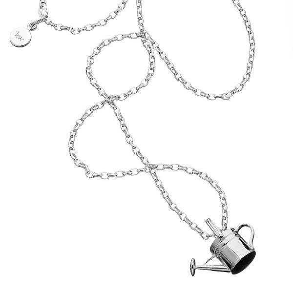 Karen Walker Watering Can Necklace - Sterling Silver - Walker & Hall