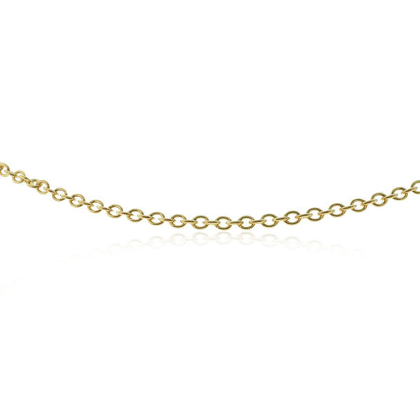 9ct Yellow Gold Cable Chain - Walker & Hall