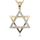 9ct Yellow Gold Diamond Star Pendant - Walker & Hall