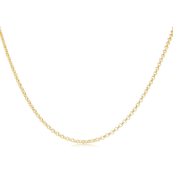 9ct Yellow Gold Belcher Chain - Walker & Hall