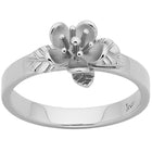 Karen Walker Single Flower Ring - Sterling Silver - Walker & Hall