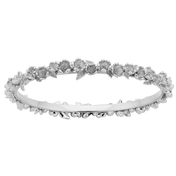 Karen Walker Flower Wreath Bangle - Sterling Silver