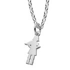 Karen Walker Girl With Cape Necklace - Sterling Silver - Walker & Hall