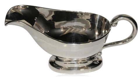 Sterling Silver Gravy Boat - Walker & Hall