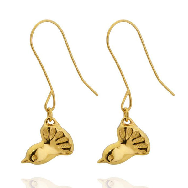 Boh Runga 9ct Gold Fantail Earrings - Walker & Hall