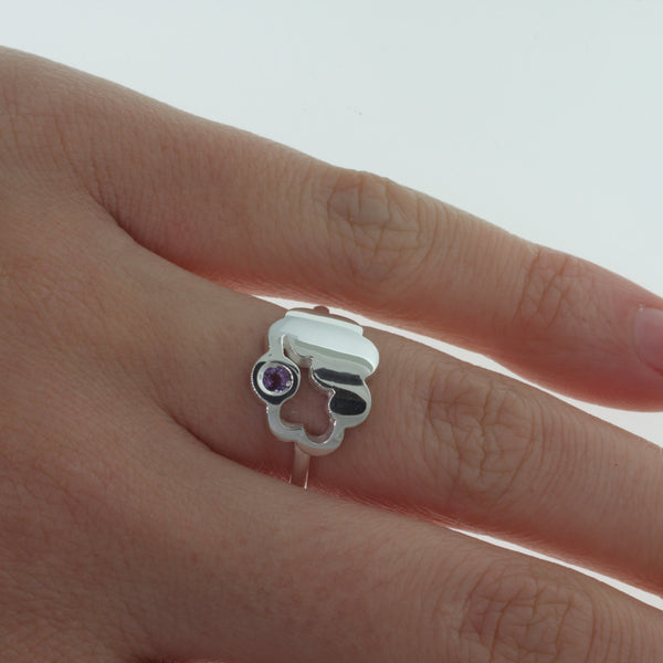 Karen Walker Cumulus Ring - Sterling Silver