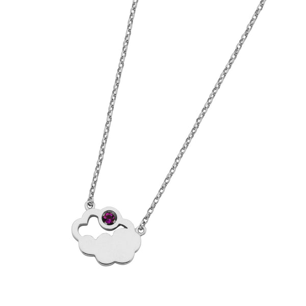 Karen Walker Cumulus Necklace - Sterling Silver