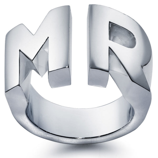 James Sterling Silver Mr Ring