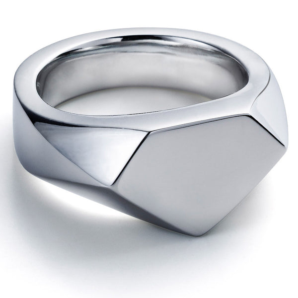 James Sterling Silver Super Ring
