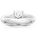Platinum .42ct Diamond Solitaire Ring - Walker & Hall