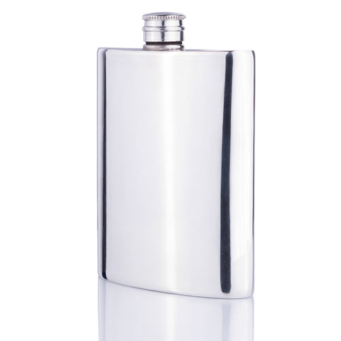 Pewter Hip Flask - Walker & Hall