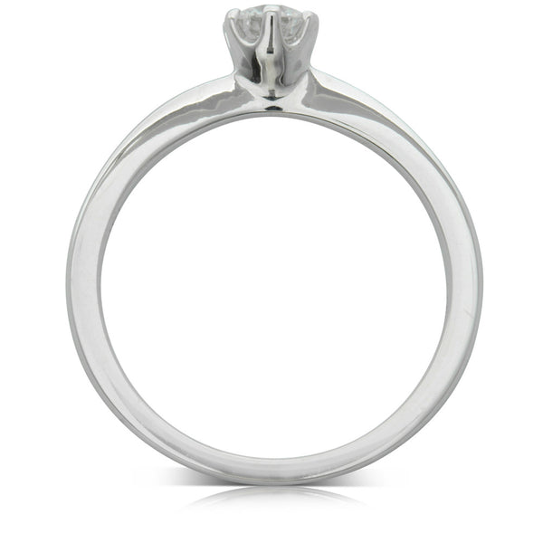 18ct White Gold .30ct Diamond Nova Ring - Walker & Hall