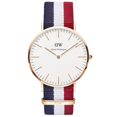 Daniel Wellington Classic Cambridge 40mm Watch - Walker & Hall