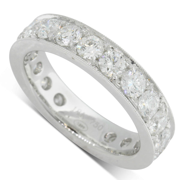 18ct White Gold 2.70ct Diamond Ring - Walker & Hall