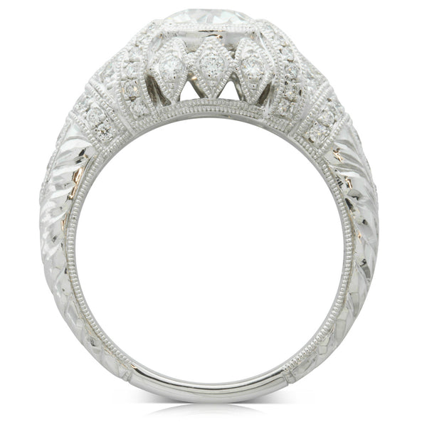 18ct White Gold 1.17ct Diamond Ring - Walker & Hall