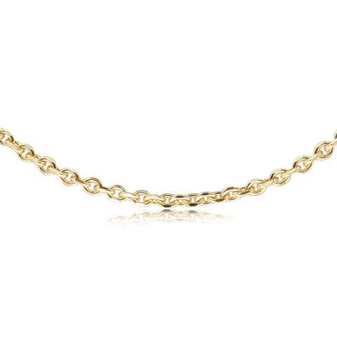 Yellow Gold Trace Chain - Walker & Hall