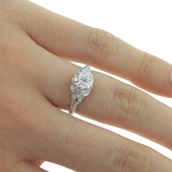18ct White Gold .72ct Diamond Ring - Walker & Hall
