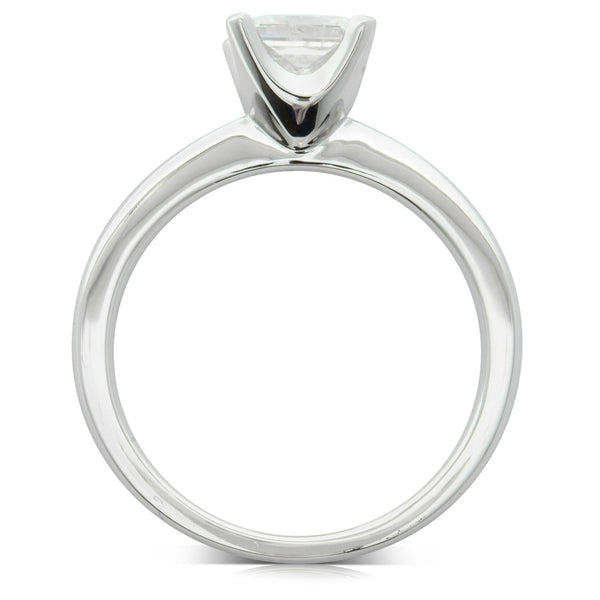 18ct White Gold 1.00ct Diamond Royale Ring - Walker & Hall