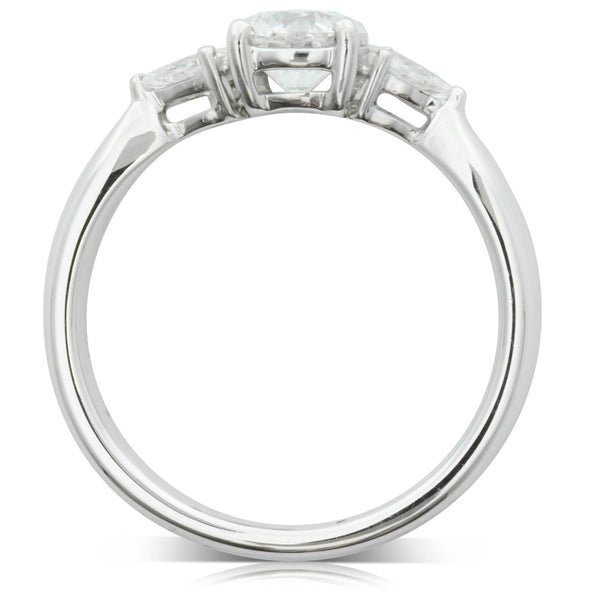 Platinum .75ct Diamond Ring - Walker & Hall