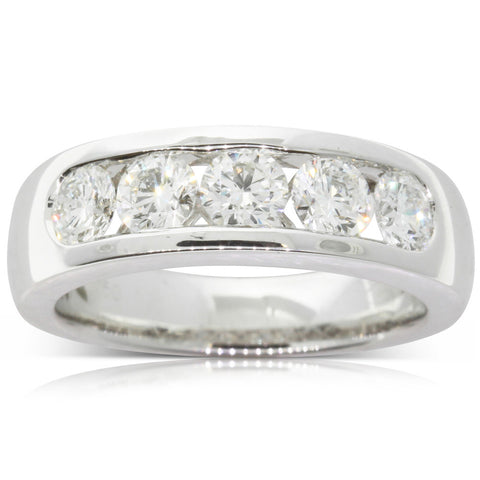 18ct White Gold 1.38ct Diamond Loire Ring - Walker & Hall