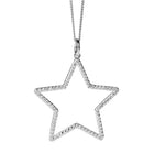 Karen Walker Diamond Star Necklace - White Gold - Walker & Hall