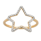 Karen Walker Diamond Star Ring - 9ct Yellow Gold - Walker & Hall