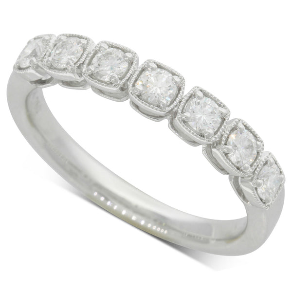18ct White Gold .43ct Diamond Ring - Walker & Hall