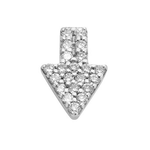 Karen Walker Superfine Diamond Arrow Stud - Single - Walker & Hall