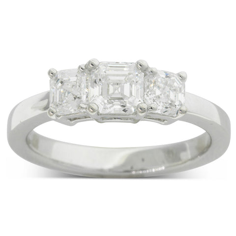18ct White Gold 1.52ct Odyssey Diamond Ring - Walker & Hall