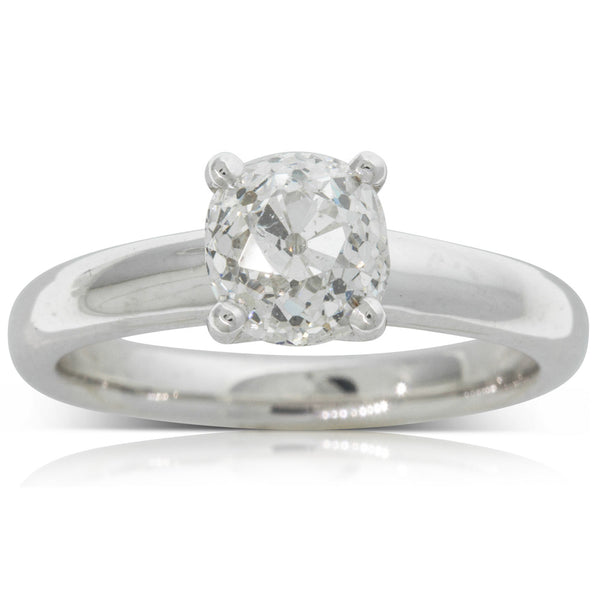 18ct White Gold 1.64ct Diamond Tulip Ring