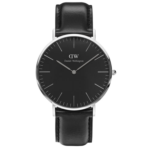 Daniel Wellington Classic Black Sheffield 40mm Watch - Walker & Hall