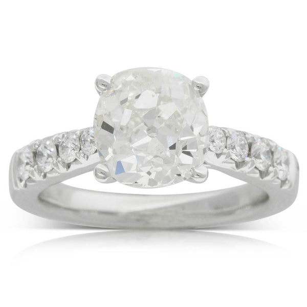 18ct White Gold 2.91ct Diamond Ring