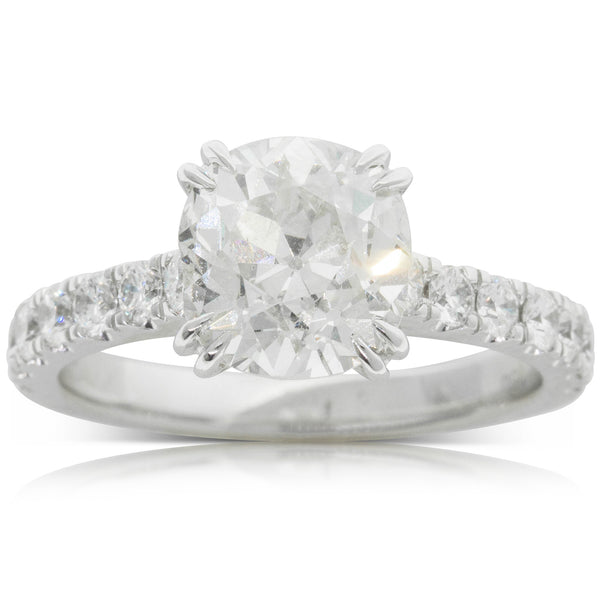 18ct White Gold 2.83ct Diamond Ring