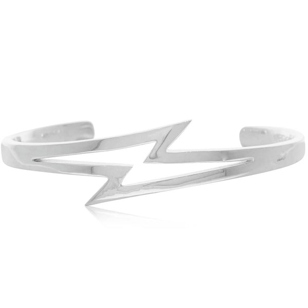 Stolen Girlfriends Club Bolt Cuff - Sterling Silver