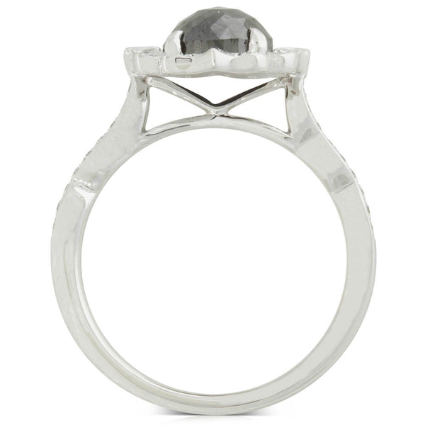 18ct White Gold 1.55ct Diamond Ring - Walker & Hall