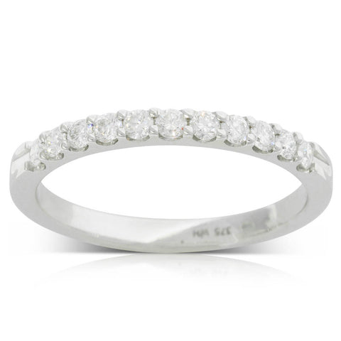 9ct White Gold .33ct Diamond Ring - Walker & Hall