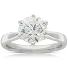 18ct White Gold 2.51ct Diamond Nova Ring - Walker & Hall