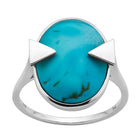 Karen Walker Turquoise Aurora Ring - Sterling Silver - Walker & Hall