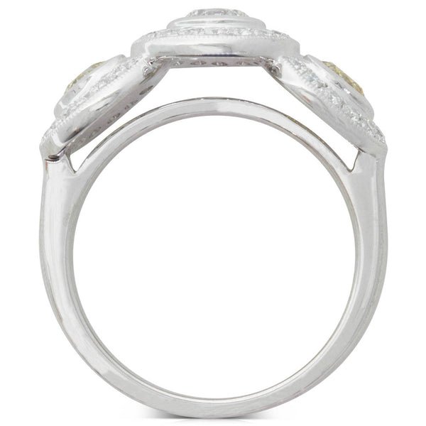 18ct White Gold 1.44ct Diamond Ring - Walker & Hall