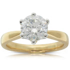 18ct Yellow Gold 2.00ct Diamond Nova Ring - Walker & Hall