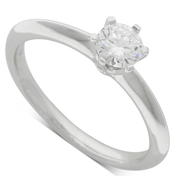 18ct White Gold .43ct Diamond Cosmopolitan Ring