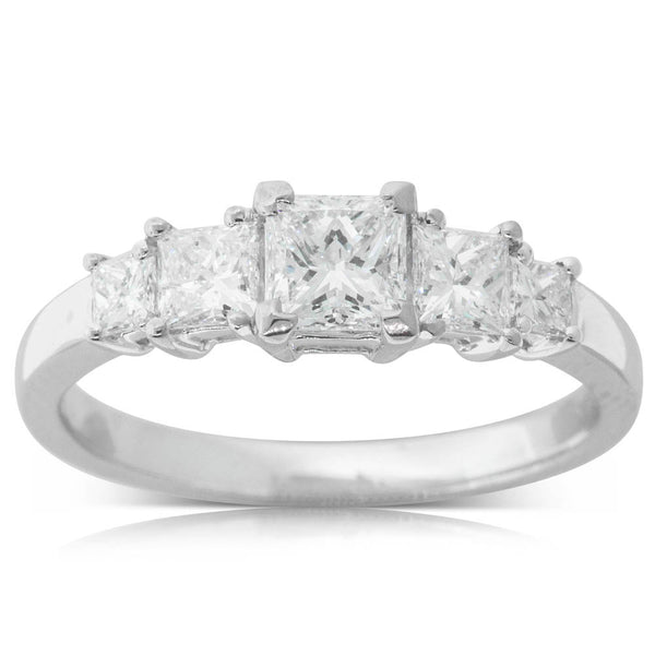 18ct White Gold 1.10ct Diamond Ring