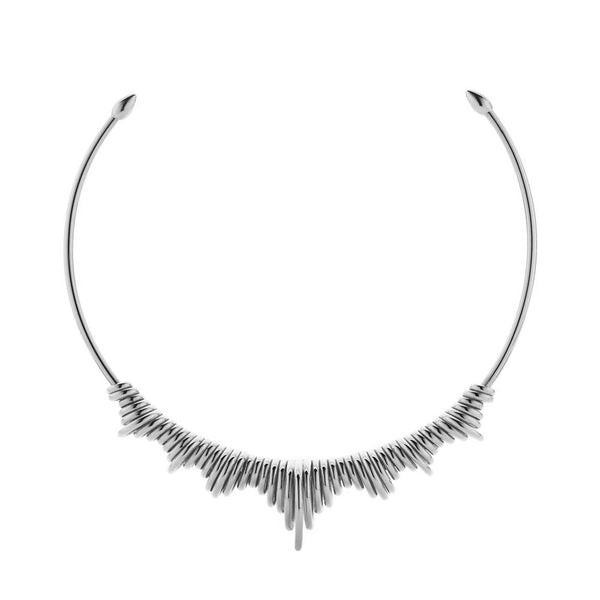 Meadowlark Revival Choker - Sterling Silver - Walker & Hall