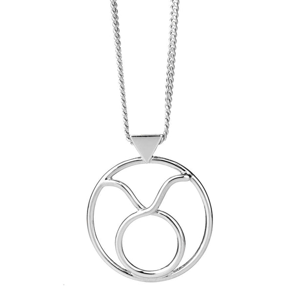 Karen Walker Taurus Necklace - Sterling Silver - Walker & Hall