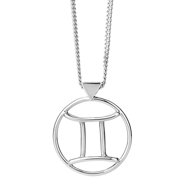 Karen Walker Gemini Necklace - Sterling Silver