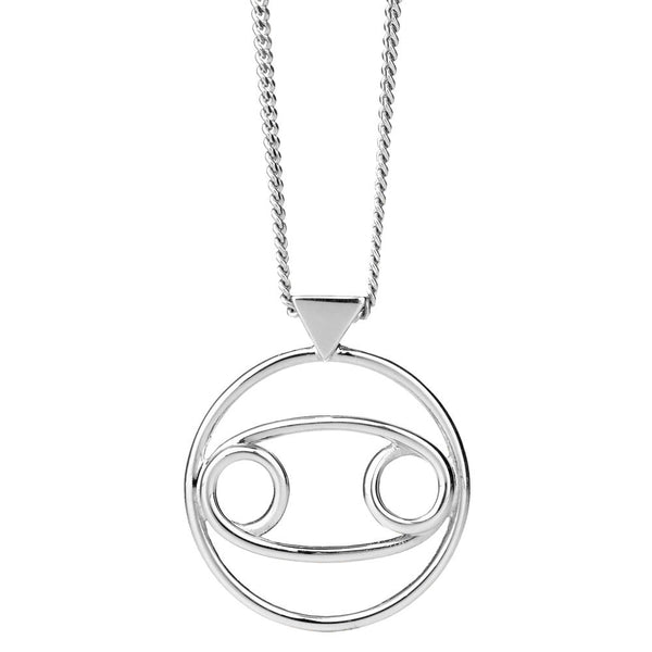 Karen Walker Cancer Necklace - Sterling Silver - Walker & Hall