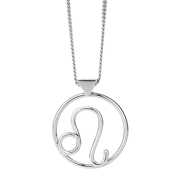 Karen Walker Leo Necklace - Sterling Silver - Walker & Hall