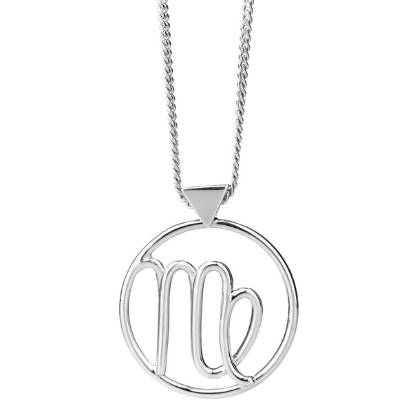 Karen Walker Virgo Necklace - Sterling Silver