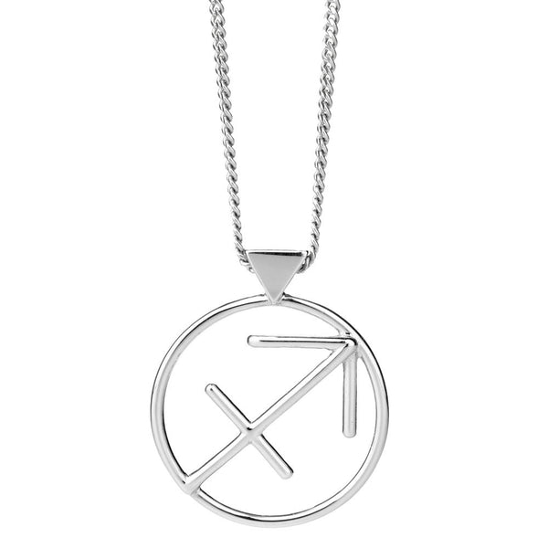 Karen Walker Sagittarius Necklace - Sterling Silver