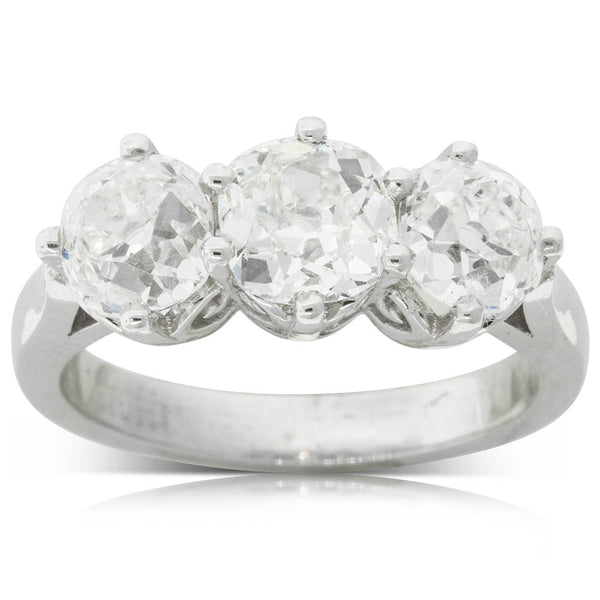 18ct White Gold 3.23ct Diamond Coronado Ring